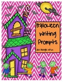 Halloween Writing Prompts: Printables in Color & Black and White