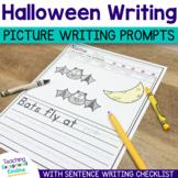 Halloween Writing Prompts Sentence Starters