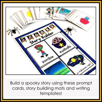 Halloween Story Writing - Story Builder
