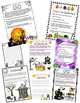 Halloween Writing Prompts & Papers-16 CCSS prompts w/ Rubric & Organizers