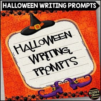 halloween journal prompts middle school