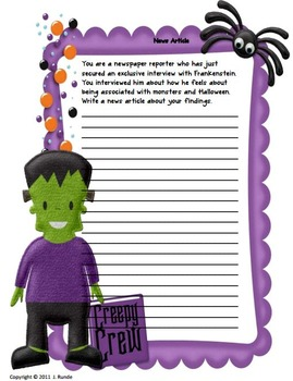 Halloween Stories For First Graders