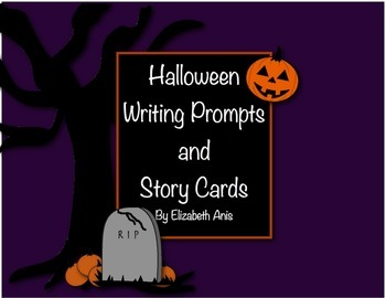 Halloween Writing Prompts and Story Cards