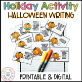 Halloween Writing Prompts & Story Starters Printable & Dig