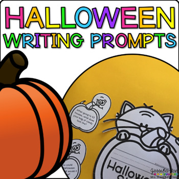 Halloween {Writing Prompts and Themed Papers}