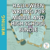 Halloween Writing Prompts for Middle and High School