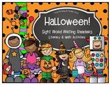 Halloween Writing Readers Math and Literacy Activities
