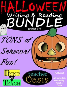 Halloween Writing & Reading BUNDLE