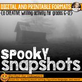 Halloween Writing: Spooky Snapshots (Digital and Printable)