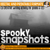 Halloween Writing: Spooky Snapshots (Digital and Printable)