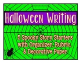 Halloween Writing: Spooky Story Starters