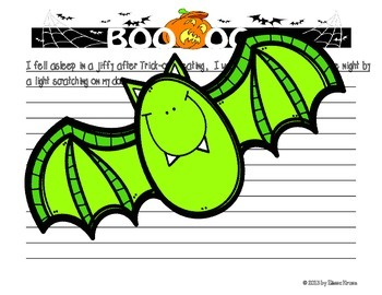 Halloween Writing: Spooky Story Starters