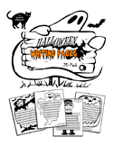 Halloween Writing Story Poem Pages Papers 20 Pack!