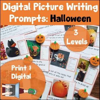 Halloween Writing Task Cards