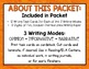 Halloween Writing Prompt Task Cards - Opinion, Informative