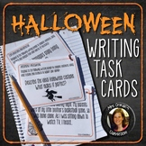 Halloween Writing Task Cards & Rubrics