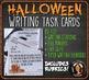 Halloween Writing Task Cards & Rubrics