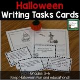 Halloween Writing Task Cards and Creative Stationary