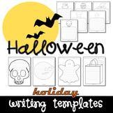 Halloween Seasonal Writing Paper Set
