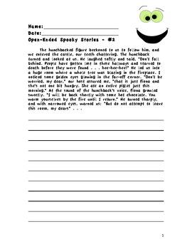 Halloween Writing Trio