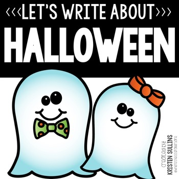 Halloween Writing Webs and Drafts