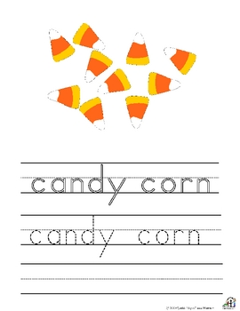 Halloween Writing Worksheets
