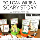 Halloween Writing - Write  a Scary Story - Digital and Print