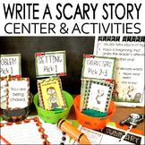 Halloween Writing Activities | Write a Scary Story | Hallo