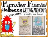 Halloween Writing and Craft Activity