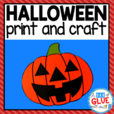 Halloween Writing and Craft Activity: Paper Craft and Creative Writing