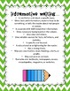 Halloween Writing lessons for 6th Grade