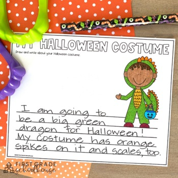 Halloween Writing for First Grade