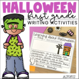 Halloween Writing First Grade