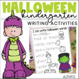 Halloween Writing for Kindergarten
