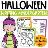 Halloween Writing Activities Kindergarten   Halloween Writing Prompts