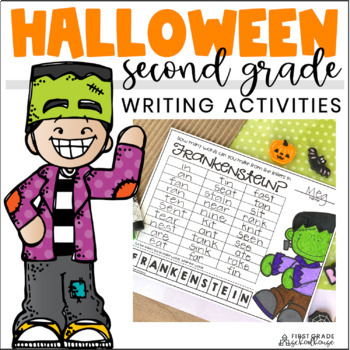 Halloween Writing for Second Grade