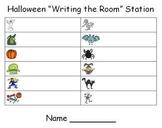 Halloween Writing the Room