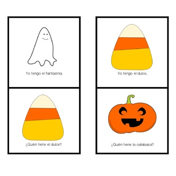 "Spanish Halloween ""Yo Tengo, ¿Quién Tiene...?"" Game"