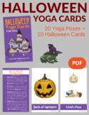 Halloween Yoga Cards for Kids