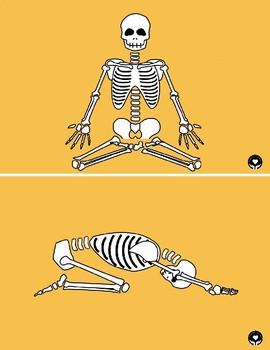Halloween Yoga Pose Cards