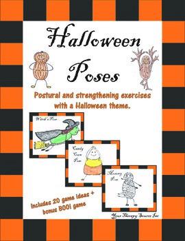 Halloween Yoga Poses
