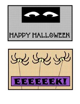 Halloween Ziploc Bag Covers