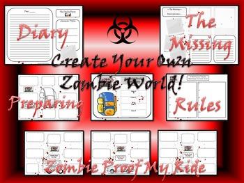 Halloween Zombies Ate My Teacher! Creative & Narrative Writing Scenarios