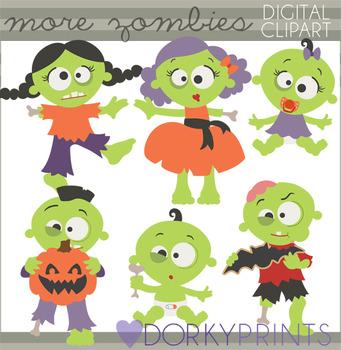 Halloween Zombies Clipart