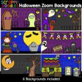 Halloween Zoom Backgrounds {Scrappin Doodles Clip Art}
