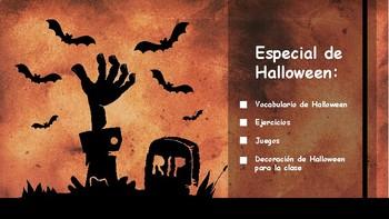 Spanish - Actividades de Halloween - Printable