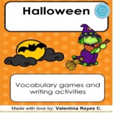 Halloween activities and vocabulary