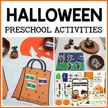 Halloween Activities for Preschool, Pre-K and Tots