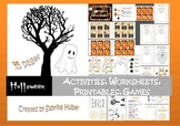 Halloween - activities, worksheets, printables and games [
