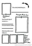 Halloween activity book, mazes, puzzles, creativity sheets